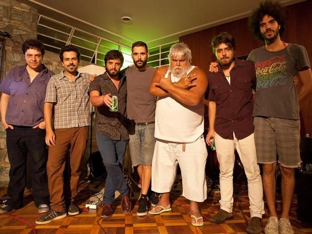 La Cumbia Negra, banda do produtor Miranda. (Foto: Divulgação / Sonido)