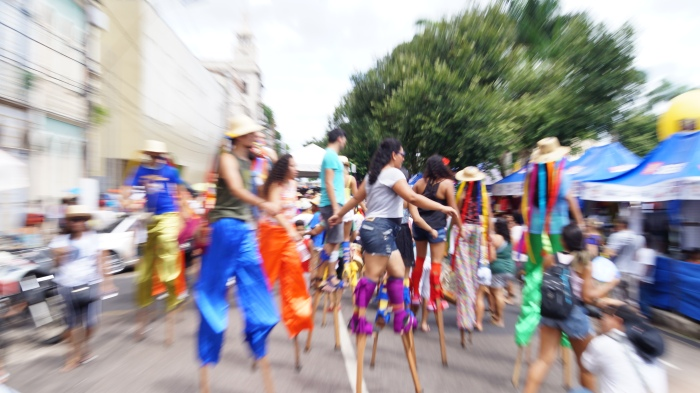 Centenas de pessoas fizeram do BoulevArte um domingo de sucesso. (Foto: Gustavo Ferreira)
