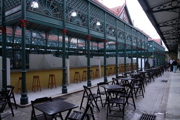 Mercado Francisco Bolonha vai virar o palco do Sonido. (Foto: joão Gomes / NID Comus)
