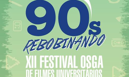 Festival Osga, em sua 12ª edição, relembra os anos 90. (Arte: Divulgação/Osga)