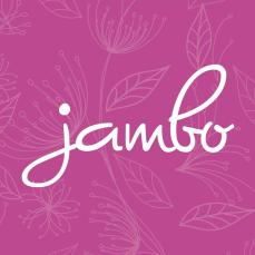 Logo do estúdio de design Jambo.
