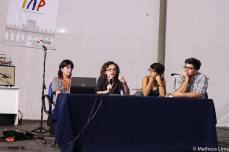 Reg falando no evento Unama Comunica, em 2013. (Foto: Matheus Lima)