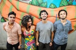 Ismael Rodrigues, Thais Ribeiro, Jassar Protázio e André Butter. (Foto: Karina Paes)