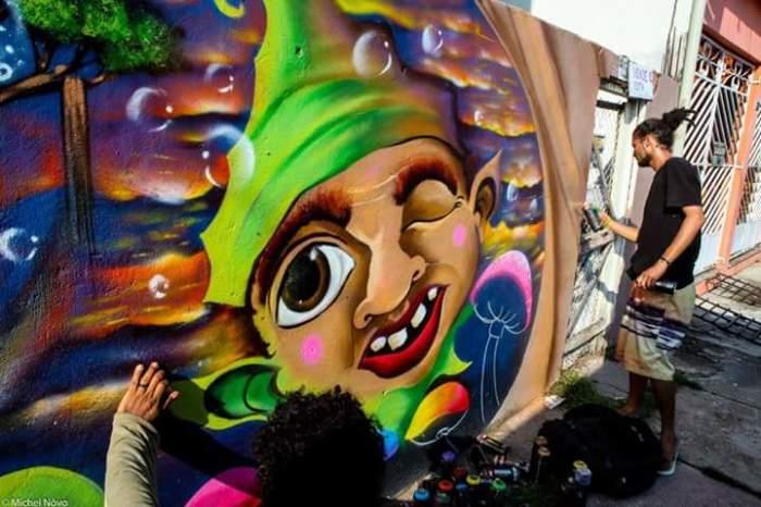 Graffiti George Cosp Tinta MICHEL ANGELO RAMOS NOVO
