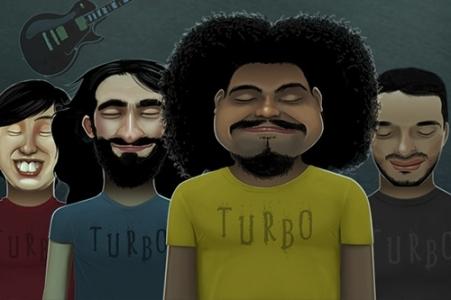 Banda Turbo (Arte: Divulgação)