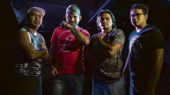 Os Reis do Eletro. (Foto: Neto Dias)