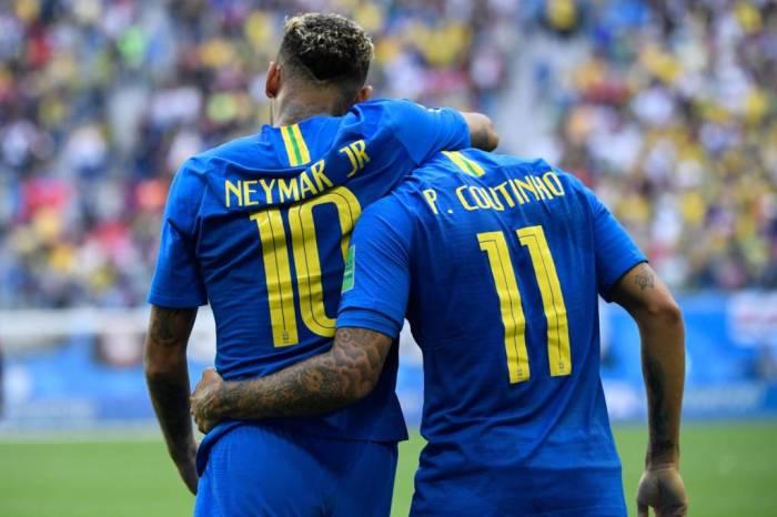 Neymar Coutinho CHRISTOPHE SIMON AFP